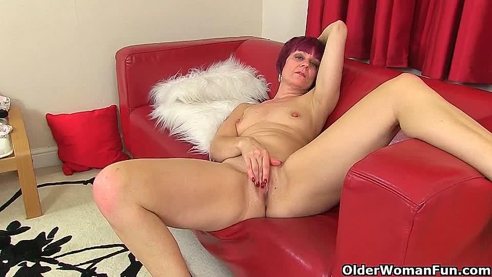 Nacktfrauen mit nasser Pussy